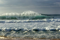Banzai Pipeline, O'ahu's North Shore, Hawaii Royalty Free Stock Image