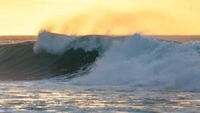Banzai Pipeline Sunset Arkivfoton