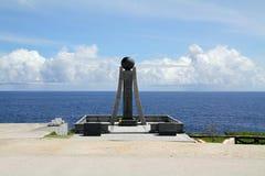 Banzaiklip in Saipan Royalty-vrije Stock Afbeeldingen