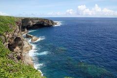 Banzaiklippa i Saipan royaltyfri foto