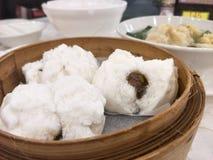 Bao arrostito della carne di maiale Fotografia Stock Libera da Diritti