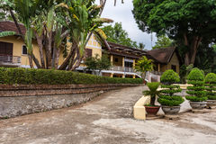 Bao Dai pałac, Dokumentalny artykuł wstępny, Buon Ma Thuot miasto, Dak Lak, Wietnam Zdjęcie Royalty Free