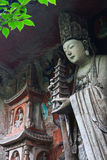 Bao Ding Mountain Circle av liv Royaltyfri Foto