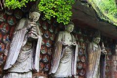 Bao Ding Mountain Circle av liv Arkivbild