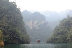 Bao Feng Lake Fotografering för Bildbyråer