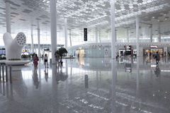 Bao'an International Airport. Stock Photo