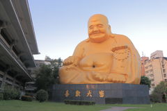 Bao Jue tempel Taichung Taiwan Fotografering för Bildbyråer