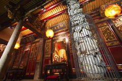 Bao An Taiwanese temple Stock Image