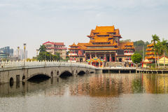 Bao An temple Royalty Free Stock Photography