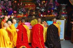 Bao tong temple Royalty Free Stock Image