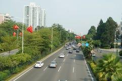 Baoan Avenue Stock Photos