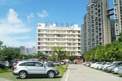 Baoan experimental school, in Shenzhen, China Royalty Free Stock Photos