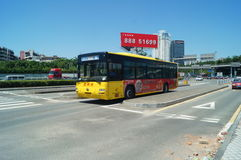 Baoan 107 national road traffic Stock Images