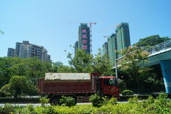 Baoan road and Bridge Stock Photography