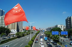 Baoan Shenzhen Avenue Royalty Free Stock Images