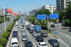 Baoan Shenzhen Avenue Stock Photo