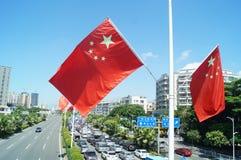 Baoan Shenzhen Avenue Royalty Free Stock Photos