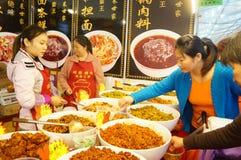 Baoan Shopping Festival food area Royalty Free Stock Photos