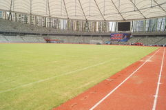 Baoan Stadium Royalty Free Stock Photography