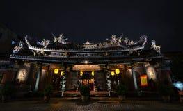 Baoan tempel, Taipei arkivbild