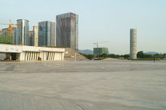 Baoan waterfront plaza Royalty Free Stock Images