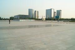 Baoan waterfront plaza Stock Photos