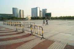 Baoan waterfront plaza Stock Image