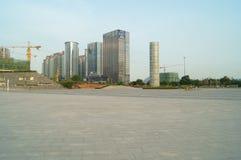 Baoan waterfront plaza Royalty Free Stock Image