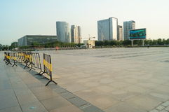 Baoan waterfront plaza Royalty Free Stock Photos