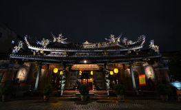 Baoantempel, Taipeh Stock Fotografie