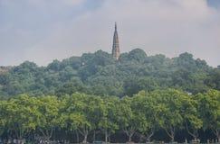 Baochu Pagoda Hangzhou Royalty Free Stock Photography