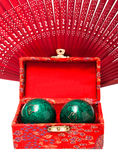 Baoding-Bälle Stockfotografie