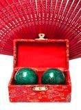 Baoding balls Stock Photography