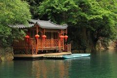 Baofeng jezioro rezerwat przyrody Zhangjiajie, Chiny zdjęcie stock