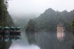 Baofeng lake, the nature reserve Zhangjiajie, China Stock Photo