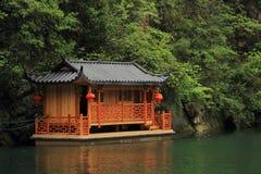 Baofeng lake, the nature reserve Zhangjiajie, China Royalty Free Stock Image
