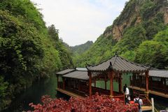 Baofeng lake, the nature reserve Zhangjiajie, China Stock Photo