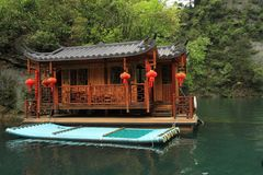 Baofeng lake, the nature reserve Zhangjiajie, China Royalty Free Stock Photography