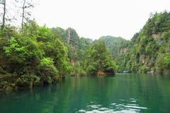 Baofeng lake, the nature reserve Zhangjiajie, China Royalty Free Stock Photos