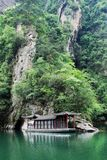 Baofeng lake in Zhangjiajie Stock Photography