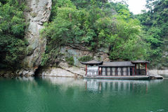 Baofeng See in Zhangjiajie Stockbild