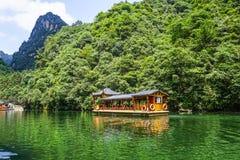 Baofeng sjö Zhangjiajie, Kina royaltyfria foton