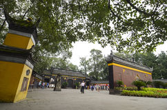 Baoguang Si Buddhist Temple Chengdu China Royalty Free Stock Photography