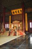 Baohe宫殿`皇帝被修造 免版税库存图片