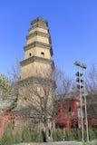 Baoqingsi-Pagode in Xian-Stadt, Porzellan stockfoto
