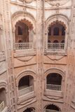 Baori (step well) at Bara Imambara complex in Lucknow, Uttar Pradesh state, Ind