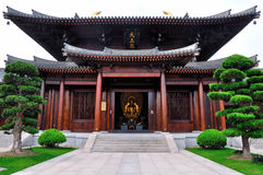 Baoshan Buddhist Temple Shanghai Stock Image