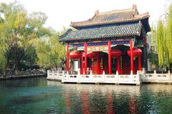 BaoTu Spring in jinan,Shandong Stock Photos