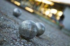 Baoule che mette su gravel.JH Fotografie Stock