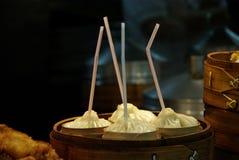 Baozi cozinhado Imagem de Stock Royalty Free